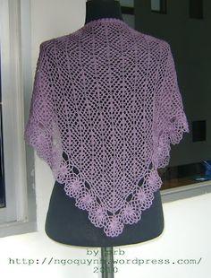 Crochet Shawl Pattern, Crochet Cape, Free Vintage Crochet Pattern