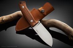 LionSteel M3 ST hunting knife, Italy. Photography by Jarek Konarzewski.