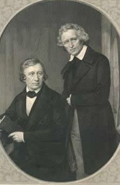 The Brothers Grimm: Jacob 1785 –1863 and Wilhelm 1786 – 1859