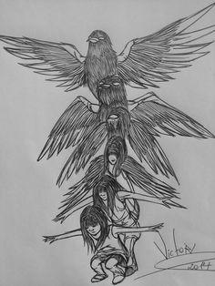 Desenho finalizado LIBERDADE