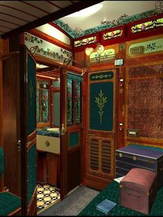 "The Orient Express ~ on my ""never gonna happen"" Bucket List lol! Oh for a taste of luxury travel on a dream locomotive, and breathtaking scenery en-route ♥ Orient Express Train, Simplon Orient Express, Train Tracks, Train Rides, Bonde, Rail Car, Old Trains, Train Journey, Ways To Travel"