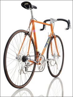 Eddy Merckx Corsa Extra (Belgium, This bike is a special-edition model created by race-circuit star Eddy Merckx Velo Vintage, Vintage Cycles, Vintage Bikes, Cycling Art, Cycling Quotes, Cycling Jerseys, Bicycle Race, Bike Rides, Push Bikes