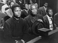 Cry, the Beloved Country, 1952, Canada Lee, Sidney Poitier, Charles Carson