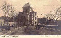 Lungotevere de' Cenci – La Sinagoga Anno: 1904 ca.