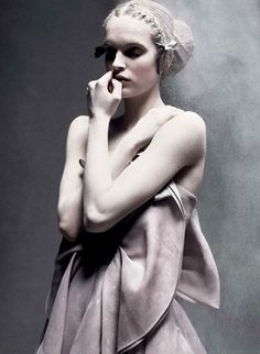 Mirte Maas by Daniel Jackson for Acne Paper Sweden #10, Spring 2010