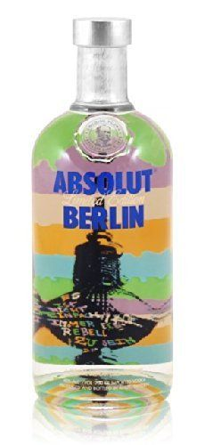 ABSOLUT VODKA BERLIN, LIMITED EDITION, 40% VOL. (1X700ML)