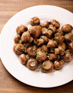 Marinated Mushrooms {Best Ever!}