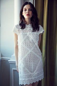 Kimchi Blue Mary Kate Crochet Shift Dress #UrbanOutfitters