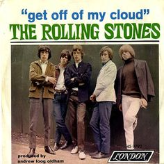 "November 6, 1965 - The Rolling Stones started a two week run at No.1 on the US singles chart with 'Get Off Of My Cloud', the group's second US No.1. The song knocked The Beatles 'Yesterday' from the No.1 position. On the song, Richards said in 1971, ""I never dug it as a record. The chorus was a nice idea, but we rushed it as the follow-up. We were in L.A., and it was time for another single. But how do you follow-up 'Satisfaction.'"" •• #rollingstones #thisdayinmusic #1960s"