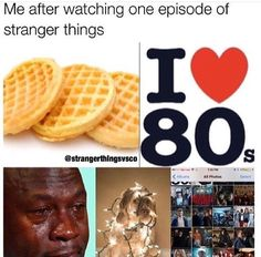 Boi. I loved the 80s way before Stranger Things. I just love the show 10x more becuz it's based in the 80s