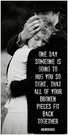 Or as I've learned, once someone shreds you to pieces no one will put you back together, but yourself. So instead I hugged myself back together, one fragment at a time over the years. I'm the hero of this story.