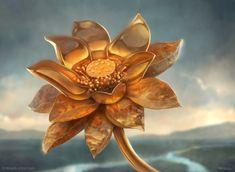 Gilded Lotus by Daniel Ljunggren
