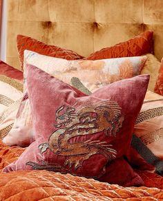 cushion cover dragon