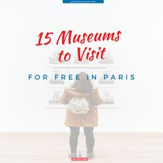 Dear art and culture lover, I heard your concerns and in this article, we will address them by sharing with you a list of 15 free museums in Paris Marie Curie, Institut Curie, Learn French Online, Georges Pompidou, Free Museums, Saint Martin, Visit France, How To Speak French, Free In