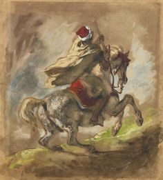delacroix.  I love his horses.