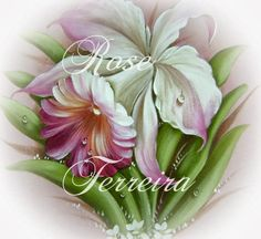 Color Magic, Acrylic Painting Techniques, Garden Signs, Fabric Painting, Handicraft, Art Images, Flower Art, Folk Art, Decoupage