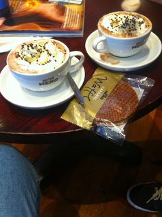 Quick stop at Caffè Nero