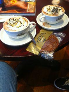 Quick stop at Caffè Nero