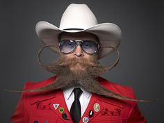 As 20 melhores barbas e bigodes do mundo | #Barbas, #Bigodes, #Competição, #GregAnderson, #RodrigoDaSilva