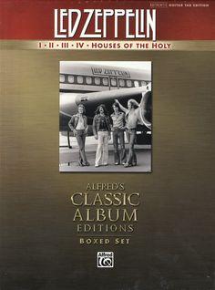 http://custard-pie.com/ Led Zeppelin: I, II, III, IV & Houses of the Holy. Guitar Tab Box Set. £85.00