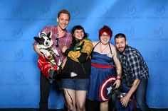 Tom and Chris with fans at Wizard World Philadelphia