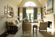 Living Room - traditional - living room - atlanta - by McLaurin Interiors