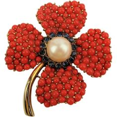 use-walmart-jewelry-department-for-your-shopping-list - Jewelry Stunner 1 Coral Jewelry, I Love Jewelry, Fine Jewelry, Glass Jewelry, Antique Brooches, Antique Jewelry, Vintage Jewelry, Vintage Costume Jewelry, Vintage Costumes