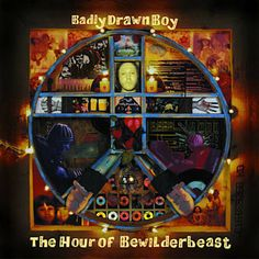Badly Drawn Boy - The Shining - The Hour of Bewilderbeast by Badly Drawn Boy Album artwork Pink Music, Picture Boxes, Price Sticker, Lp Cover, Vintage Vinyl Records, Music Wallpaper, Cd Album, The Shining, Audiophile