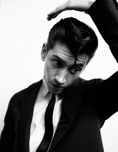 Alex Turner for Another Man S/S13 01