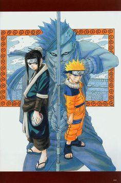 Naruto ~~ Three warriors :: Haku , Zabuza , Naruto
