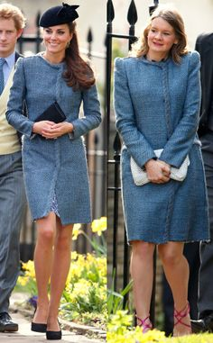 Kate Middleton and Guest Wear the Same Missoni Coat to a Wedding of their close friends Lucy Meade and Charlie Budgett at St. Mary's Church in the town of Marshfield, in Gloucestershire on Kate Middleton Wedding, Kate Middleton Dress, Kate Middleton Style, Royal Fashion, Fashion Looks, Royal Family Portrait, Campaign Fashion, Prince William And Kate, Duchess Kate