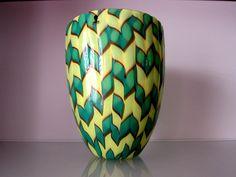 murano VASE CALABASH Design James Carpenter Venini signiert,original,top