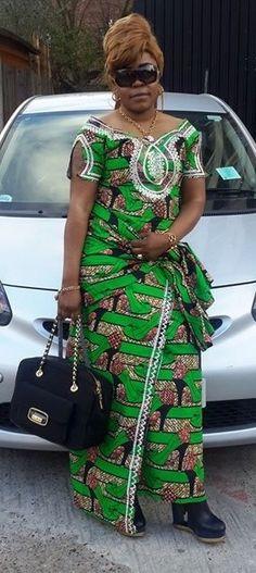 FROM DRC African Wedding Attire, African Attire, African Wear, African Women, Best African Dresses, African Fashion Dresses, African Blouses, Fashion Forms, Ankara Dress