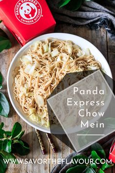 Veggie Side Dishes, Side Dish Recipes, Asian Recipes, Ethnic Recipes, Homemade Chow Mein, Panda Express Chow Mein, Yaki Soba, Gluten Free Noodles, Homemade Sauce