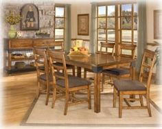 Murphy dining room set by Ashley - America's Mattress and Furniture