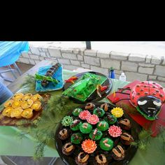 Bug. Themed party cakes