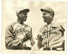 Satchel Paige and Dizzy Dean