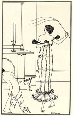 """""""Full and True Account of the Wonderful Mission of Earl Lavender, which Lasted One Night and One Day: With a History of the Pursuit of Earl Lavender and Lord Brumm by Mrs. Scamler and Maud Emblem"""", by John Davidson. Vintage Artwork, Vintage Prints, Art Nouveau, Art Deco, John Davidson, Flagellation, Japanese Woodcut, Aubrey Beardsley, Reproduction"""
