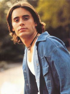 """Jordan Catalano! (Jared Leto) """"I just like how he's always leaning. Against stuff. He leans great."""""""