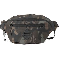 Billabong Unisex Java Waistpack ($25) ❤ liked on Polyvore featuring bags, accessories, camo, billabong and billabong bags