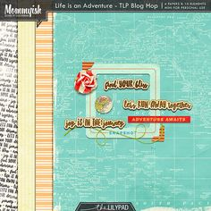 Quality DigiScrap Freebies: Hurry! Life is an Adventure mini kit freebie from Mommyish