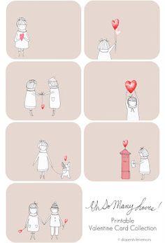 Diaper Style Memoirs: wonderfully handmade - oh so many loves! valentines