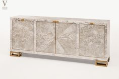 Atelier Viollet's New Masterpiece: A Sideboard in Gypsum & Bronze   Atelier Viollet BlogAtelier Viollet's New Sideboard in Starburst Gypsum