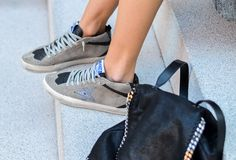OUTFIT: GOLDEN GOOSE SNEAKERS & STELLA MCCARTNEY BACKPACK