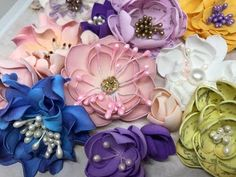 Making Foamiran Flowers - part 2