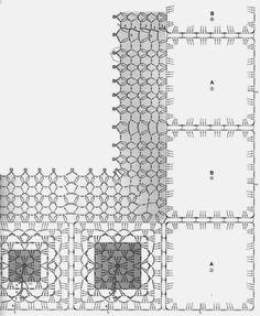 Free Granny Square Crochet Poncho Pattern 2