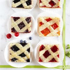 Four Fruit Pie Bars from Smucker's®