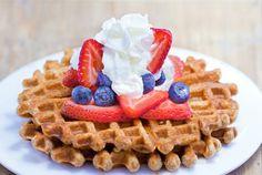 Healthy Waffles – Light, Fluffy, & Fat-Free