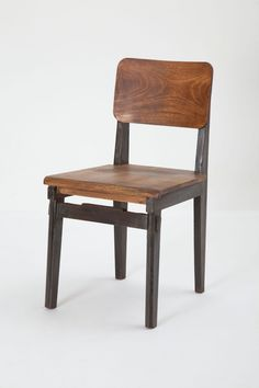 """- Mango wood, steel - 34""""H, 18""""W, 20""""D - Seat: 19""""H - Imported"""