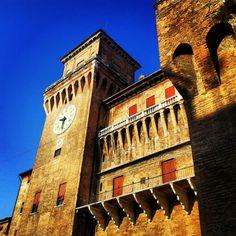 La magnificenza. #Ferrara #castello #estense #italy #italia